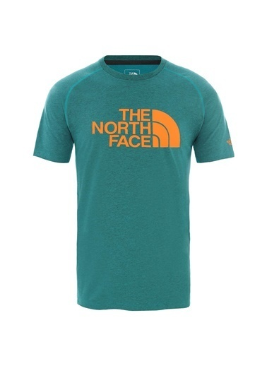 The North Face Erkek  Wıcker Graphıc Crew-Eu Tişört Nf0A2Xl9P7R1 Yeşil